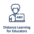 Distance Learning for Educators