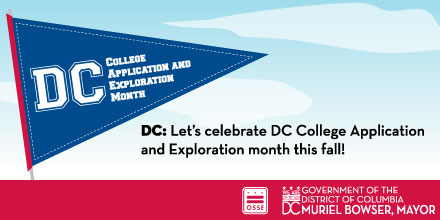 November is DC College Application and Exploration Month