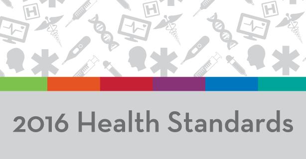 2016 Health Education Standards
