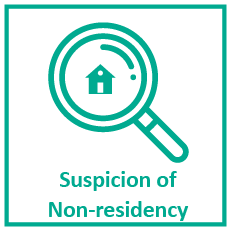 Suspicion of Non-residency