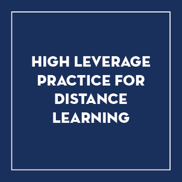 High Leverage Practices