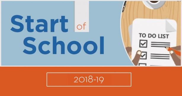 2018 Start of School Summit Resources