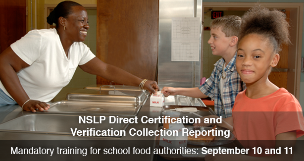 NSLP Direct Certification and Verification Collection Reporting