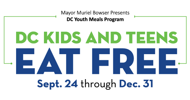 DC Kids and Teens Eat Free