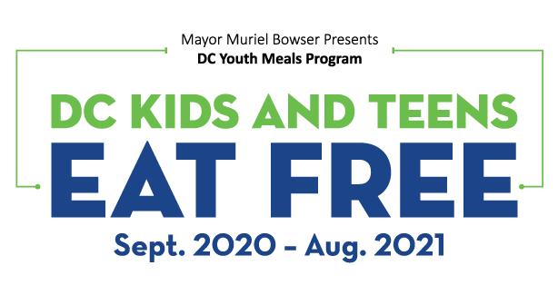 DC Kids and Teens Eat Free