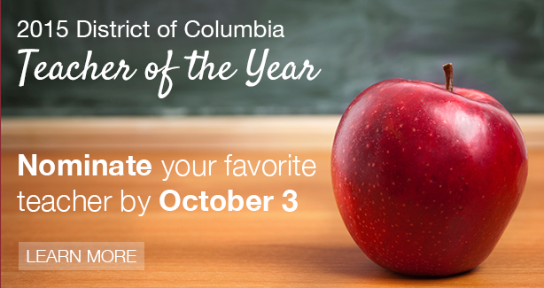 2015 District of Columbia Teacher of the Year