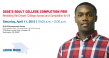 Adult College Completion Fair